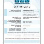 Certificazione ISO 14001 Pomme Manifatture